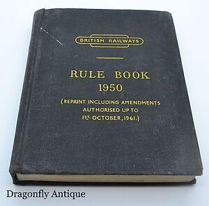 British-Railways-Rule-Book-1950-Locomotive-Amendments-1961