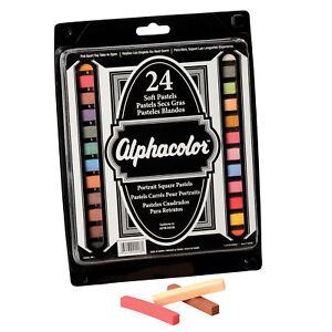 2-3//4 X 7//16 i SCSP-216522-Alphacolor Multicultural Portrait Square Pastel Set