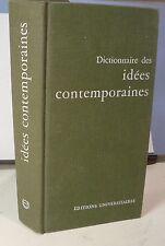 Dictionnaire des idées contemporaines: Boisdeffre, Lepp …