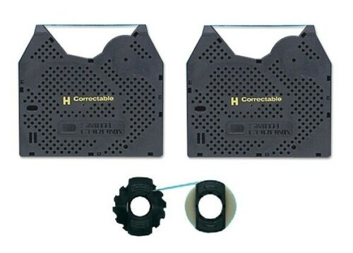 Smith Corona PWP365DS 2PK Ribbon and 1PK Correction Tape Spools Free Shipping