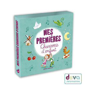 Mes-premieres-chansons-d-039-enfant-Album-2CD-Livret-illustre