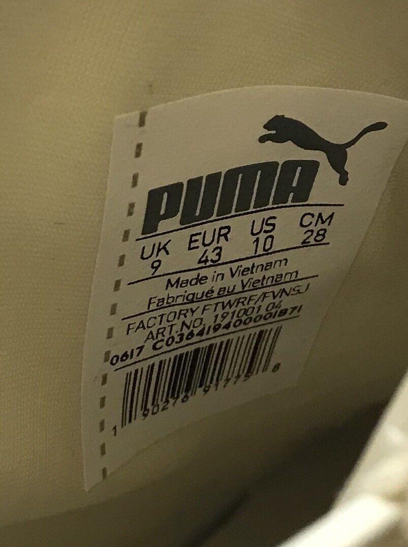 New Puma Puma Puma & Rihanna The Trainer Hi By Fenty Whisper White Men's shoes 191001-04 6ed70b