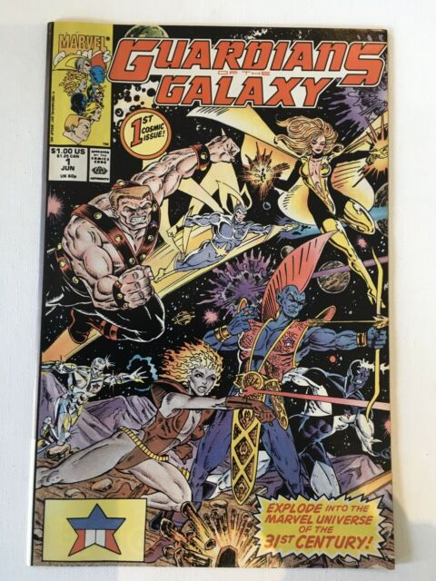 Guardians of the Galaxy #1 (Jun 1990, Marvel)