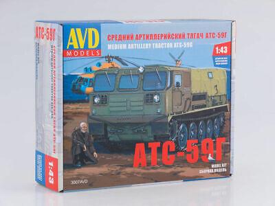 ATS 59G Unassembled Kit AVD Models by SSM 1:43 3007AVD