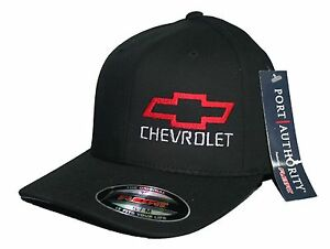 8f95ac9afcb Image is loading Bowtie-hat-cap-fitted-flexfit-curved-bill-chevrolet-