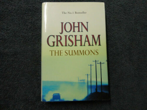 THE SUMMONS BY JOHN GRISHAM HARDCOVER BOOK