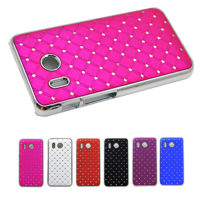 Amazing Shiny Bling Hard Crystal Back Cover Case For Huawei Ascend Mobile Phone