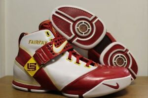 8e3f639f180b10 Details about Nike zoom lebron v 5 fairfax home edition pe player edition