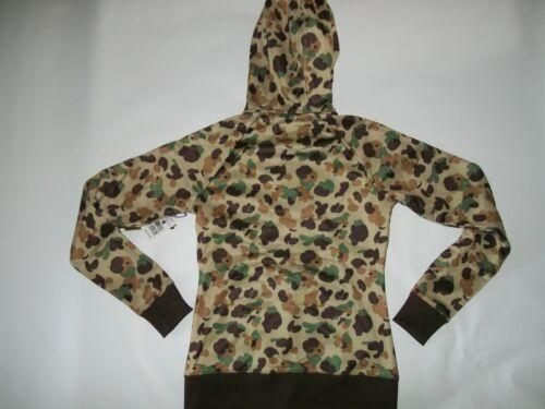 Jacket Womens Sz Zip Hooded New Burton Duck Sweatshirt Camo Small 886888560184 Hunting Full xnw8nUzq0d