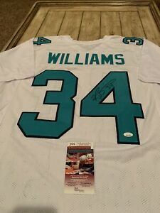 Ricky-Williams-Autographed-Signed-Jersey-JSA-COA-Miami-Dolphins