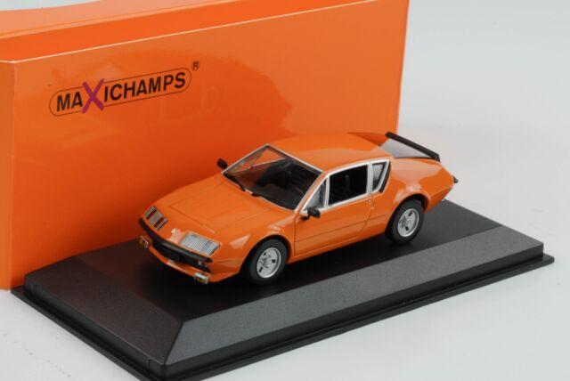 Renault Alpine A310 Orange 1976 1:43 Minichamps Maxichamps