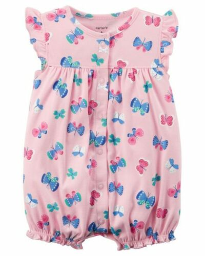 NEW Carter/'s Baby Girls Summer Romper One-piece Outfit 3 9 12 24 months NWT
