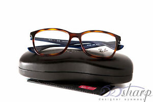 b750536ea1 Image is loading Ray-Ban-Eyeglasses-RB-7066-5585-LIGHT-HAVANA