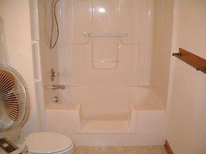 Walk-In Bath To Shower Step Thru Insert DIY Conversion Kit Senior ...