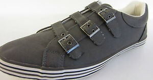 Spot-On-hommes-decontracte-GRIS-Chaussure-Baskets-A2096-tailles-UK-7x11-MRCTN