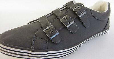 Spot On Herren Freizeit grau Schuhe/Turnschuhe A2096 UK Größen 7 x 11 ( mrctn )