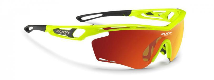 Sonnenbrille RUDY PROJECT tralyx Gelb Neon'Gloss Multilaser Orange