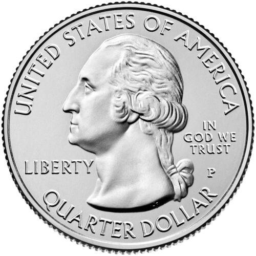 "2015 SARATOGA NEW YORK /""ATB/"" NATIONAL PARK QUARTER P or D MINT 1-COIN FREE"