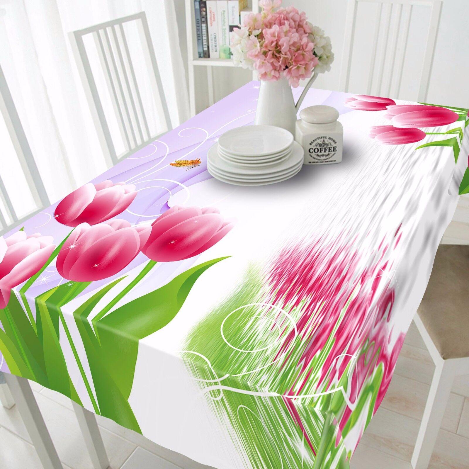 3D Petals Leaf Tablecloth Table Cover Cloth Birthday Party AJ WALLPAPER UK Lemon