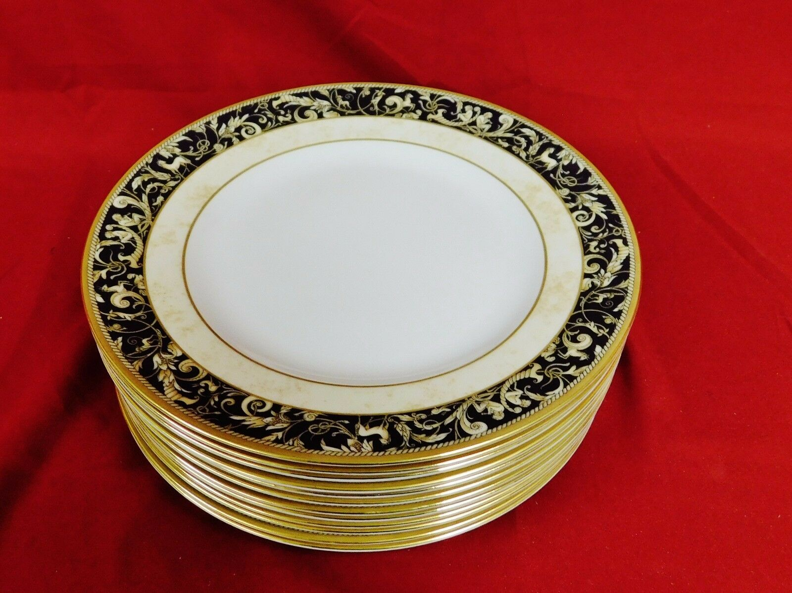 Wedgwood Cornucopia Salad Plates - Set of 12
