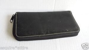 black-leather-zip-around-wallet