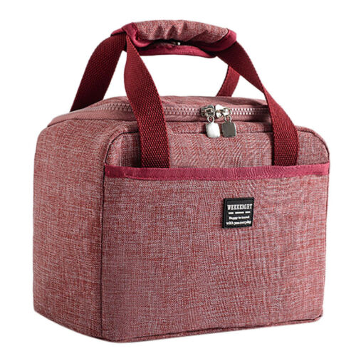 Insulated Lunch Box Cooler Bag Waterproof Thermal Work School Picnic Bento