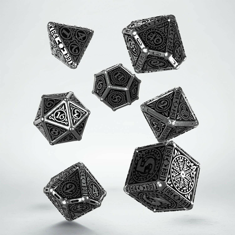 Metal Svetovid Dice  Set (7)  expédition rapide