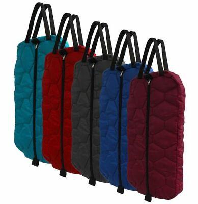 Showman Nylon Halter /& Bridle Bag with Zipper Front FREE SHIP