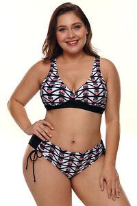 Baño Mujer Detalles Estampado Bañador Bikini Bandera Americana De Traje Tallas Grandes D2E9IHWY