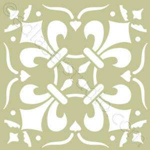 Tile Stencil 100mm Moroccan Template Card making Paint Home Decor ...