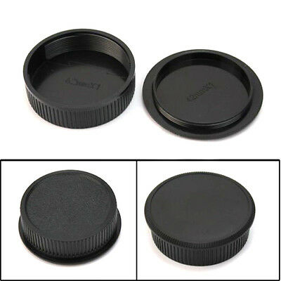 2pcs Body Cover Lens Rear Cap for CANON FD Camera and Lens Protect Access d R0D7