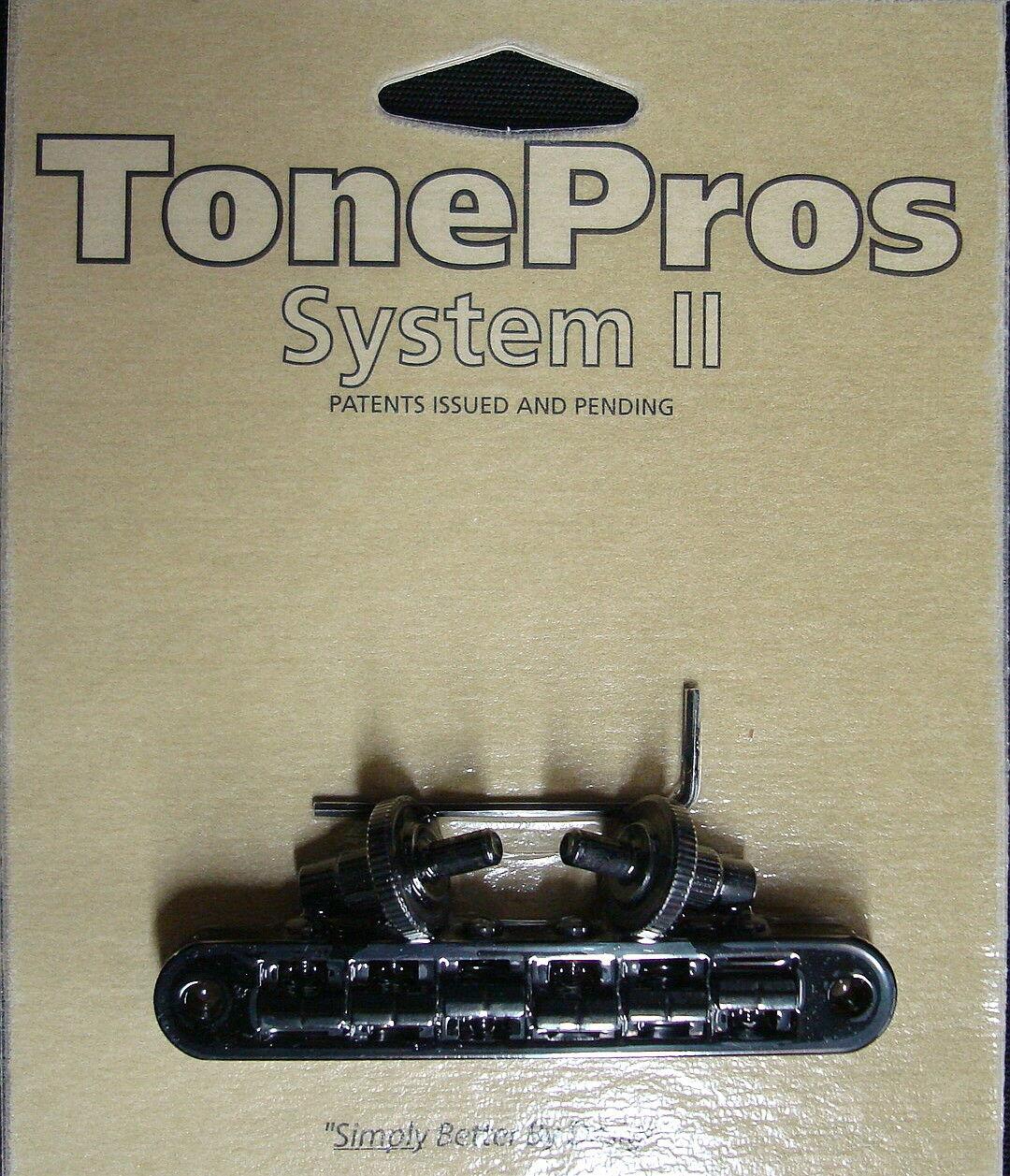 TP6A-B TonePros Signature Aluminum Serie Puente con Standard Bell Monturas Monturas Monturas de Bronce  bba2ff