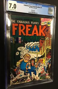 FABULOUS-FURRY-FREAK-BROTHERS-1-5th-print-CGC-7-0-Rip-Off-Press-1972
