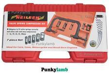 Valve Spring Compressor Kit Garage Tool Car Van Motorcyles Bikes Engines
