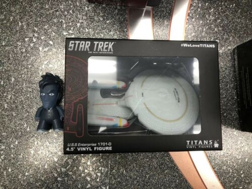 Star Trek Next Generation USS Enterprise 1701-Titans NEW YORK COMIC détenu 2016 EXCLUSIVE NEW