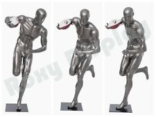 Male Mannequin Muscular Football Player Dress Form Display Mc Brady11