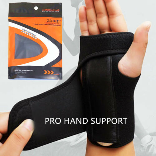 Wrist Support Hand Splint Carpal Tunnel Brace Pain Relief Injury Rsi Tri
