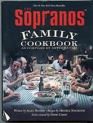 The SOPRANOS FAMILY COOKBOOK As Compiled by ARTIE BUCCO Italian Recipes FREESHIP