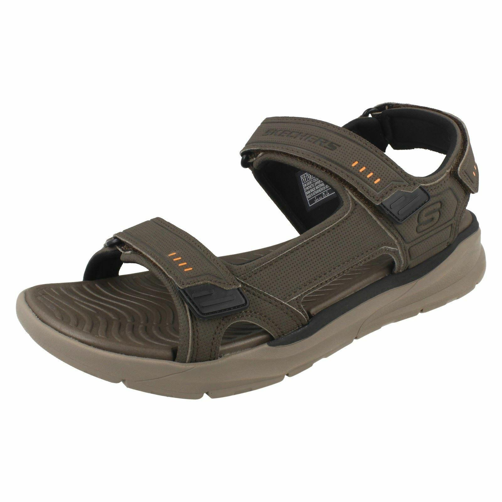 Mens Skechers Casual Memory Foam Relaxed Fit Sandals 'Senco'