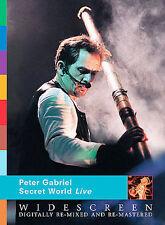 Peter Gabriel - Secret World Live DVD, Peter Gabriel, Manu Katché, Tony Levin, D