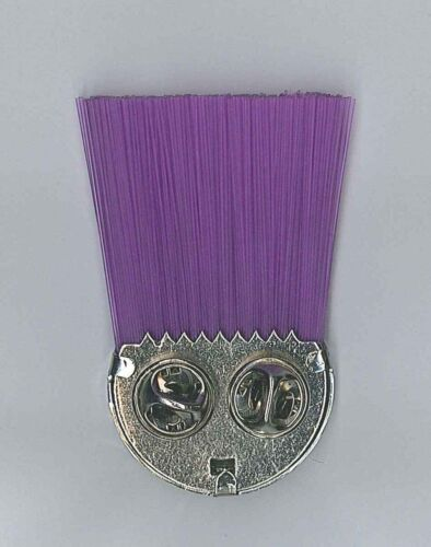 Scout Commissioner Rank Metal Hat Plume Badge Extinct 1990/'s HONG KONG SCOUTS