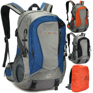 719db5840f Image is loading 40L-Waterproof-Travel-Sport-laptop-Hiking-camping-Backpack-