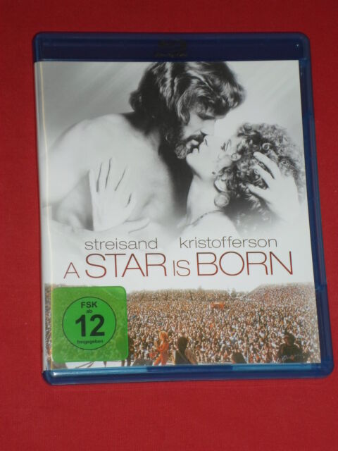 "Barbra Streisand,Kris Kristofferson""A STAR IS BORN""  Blu-ray"