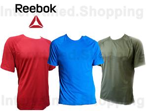Reebok BR05 Men/'s Crew Neck SpeedWick TrueFit Supremium Short Sleeve Tee-Shirt