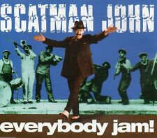 Everybody Jam! - Scatman John CD ( 4 Track ) Maxi Single