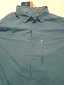 Tommy-Bahama-Nylon-Long-Sleeve-Keep-It-Reel-Fishing-Sport-Shirt-NWT-XL