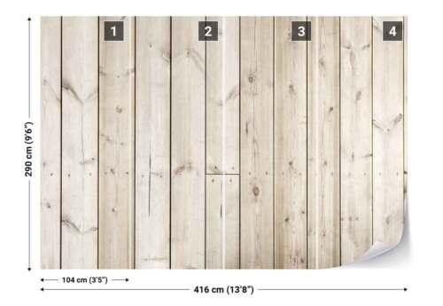 Wood planks Wall Texture Photo Wallpaper Wall Mural FW-1158