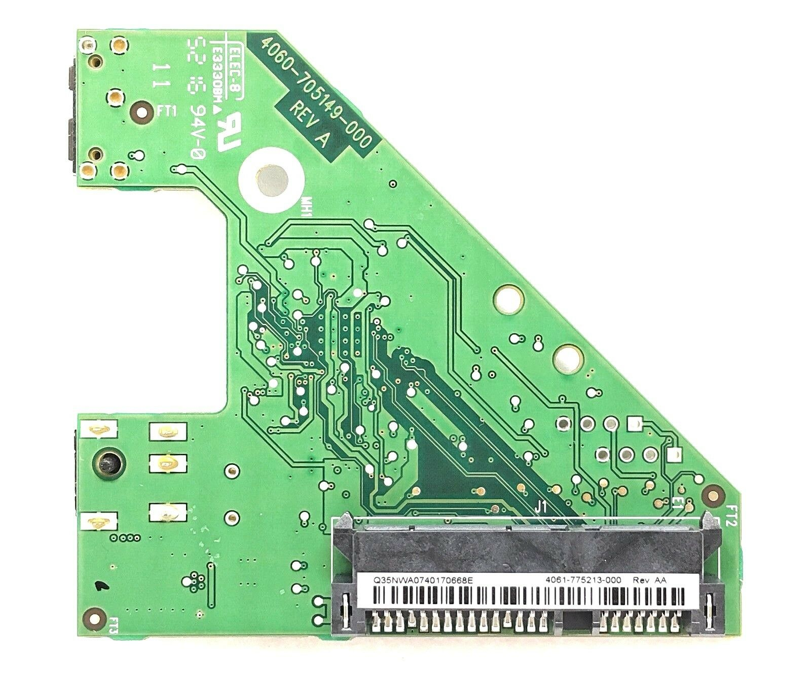 connector board replacement 4061-705059 Rev AE for WD MY BOOK USB2.0 Hard Drive