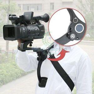 New Shoulder Support Pad Mount Stabilizer For Video Camcorder Camera DV HD DSLR