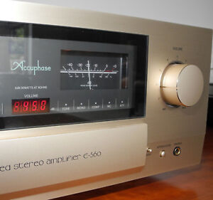 Accuphase-E-560-High-End-Class-A-Vollverstaerker-P-I-A-Geraet-in-Top-Zustand
